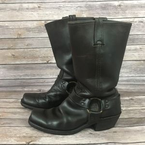 Frye Brown Harness Boot